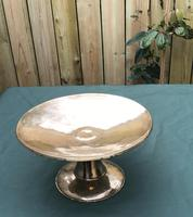 Arts & Crafts Brass Planished Comport / Tazza (5 of 5)