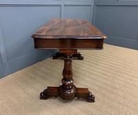 Early Victorian Rosewood Library Table (7 of 15)