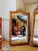 Pair of Italian Large Gilt Mirrors (5 of 10)