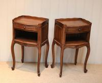 Pair of French Oak Bedside Cabinets (4 of 10)