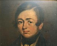 Beautiful Late 18thc Georgian Oil Portrait Painting Of A Young Handsome Chap (5 of 11)