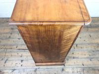 Victorian Satin Birch Chest of Drawers (8 of 9)