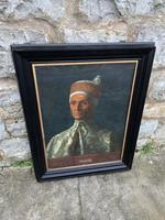 19th C Oil On Canvas Of Octavia Hill's Portrait Of Leonardo Loredan (6 of 6)