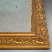 Antique Wall Mirror, English, Gilt Gesso, Neo Classical Revival, Victorian, 1900 (3 of 8)