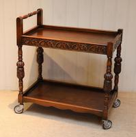 Carved Oak Trolley (5 of 10)