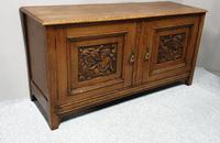 Art Nouveau Golden Oak Sideboard (3 of 6)