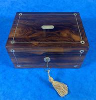 Rosewood Jewellery Box c.1830 (7 of 9)