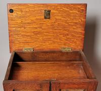Antique Victorian Oak Smokers Cabinet, Arts & Crafts (9 of 14)