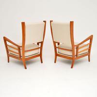 1950's Pair of Italian Vintage Armchairs (3 of 12)