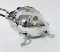 Antique Solid Silver Sauce Boat (9 of 10)