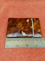 Antique Faux Tortoise Shell Card Case C1880 19th Century (8 of 8)