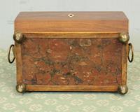 Antique Rosewood Tea Caddy (12 of 15)