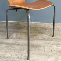 Teak 'City Chairs' by Øyvind Iversen (12 of 13)