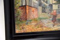Antique Watercolour Painting of The Mermaid Inn, Rye by Annie L. Lee (5 of 10)