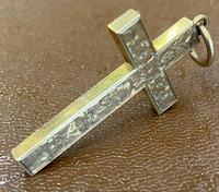 9ct Rose Gold Engraved Cross (4 of 5)