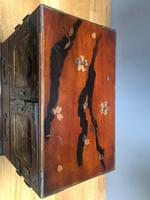 Antique Oriental Lacquered Table Cabinet (4 of 11)