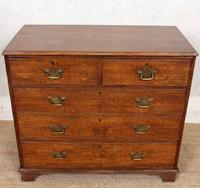 Georgian Oak Chest of Drawers 18th Century (2 of 12)