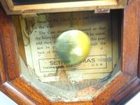 Impressive Victorian American Drop Dial Wall Clock 8 Day Movement Seth Thomas (7 of 12)