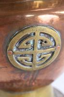 Pair of Chinese Brass & Copper Planters / Jardinières (7 of 13)