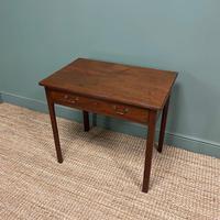 Mahogany George III Figured  Antique Side Table (4 of 5)