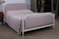 Pretty in Pink Newly Upholstered French King-size Bed (2 of 8)