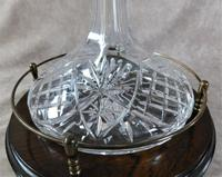 Ship's Decanter on Galleried Wooden Stand (2 of 6)