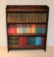 Solid Oak Graduated Bookshelves (6 of 10)