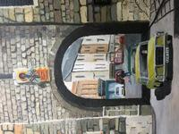 """Fine Oil Painting Architectural Entrance """"Micklegate Bar"""" York Signed F Chilton (22 of 31)"""
