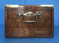 Victorian Brassbound Walnut Cigar Box (13 of 19)