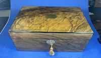 Victorian Brass Inlaid Walnut Writing Slope (9 of 21)