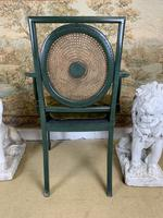 Fabulous Set of 6 Green Painted Armchairs (6 of 12)