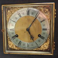 Amazing New Haven mantle clock 8 Day Westminster Chime Bracket Clock Very Rare (7 of 10)