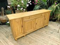 Big! Old 2m Pine Dresser Base Sideboard / Cupboard / TV Stand - We Deliver! (2 of 13)