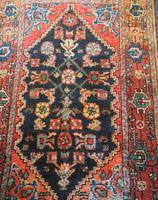 Small Vintage Persian Hamadan Rug (5 of 5)