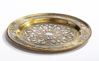 Middle Eastern Dish with Silver Inlays (4 of 4)