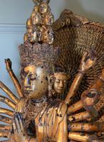 Magnificent Quan Am 'Guanyin' - Antique Carving (3 of 6)