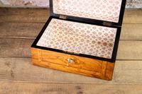 Figured Walnut Tunbridge Table Box 1880 (7 of 7)