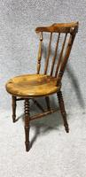 Good Set Six Kitchen Dining Chairs (Ibex) (3 of 7)