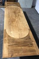 Large Oak Farmhouse Table with Extensions (20 of 30)