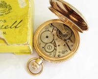 Antique Thomas Russell Full Hunter Pocket Watch (3 of 5)