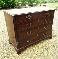 George III North Country Chest Of Drawers