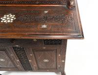 Syrian Inlay Cabinet Bookcase Damascan Islamic Interiors c.1880 (8 of 14)