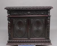 19th Century Chinese Hongmu Pedestal Desk (8 of 19)