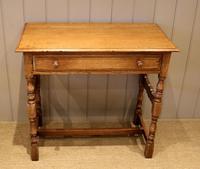 Light Oak Hall Table