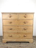 Victorian Antique Pine Chest of Drawers (10 of 10)