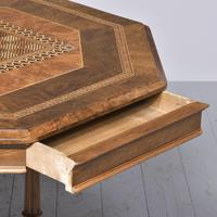 Victorian Walnut & Inlaid Games Table (4 of 10)