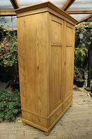 Quality! Large Old Pine Double 'Knock Down' Wardrobe - We Deliver! (3 of 17)