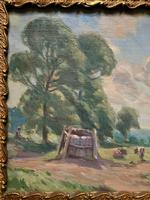 William Francis Burchell Exhibited Impressionist Oil Painting (7 of 12)