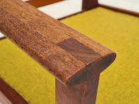 "Danish Design by Illum Wikkelsø Armchair ""Capella"" Series, 70s, Teak, Renovated-reupholstered (9 of 13)"