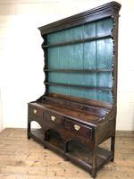 Antique 18th Century Joined Oak Dresser (8 of 10)
